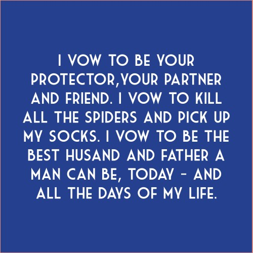 Medium Of Vows For Her