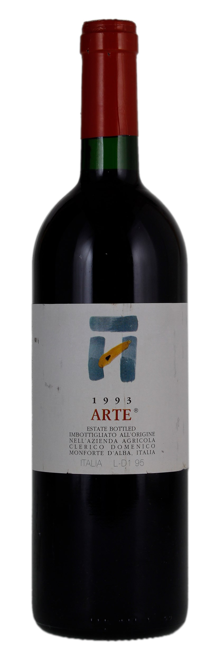 Arte Wine Clerico Arte 1993 Red Wine From Italy Winebid