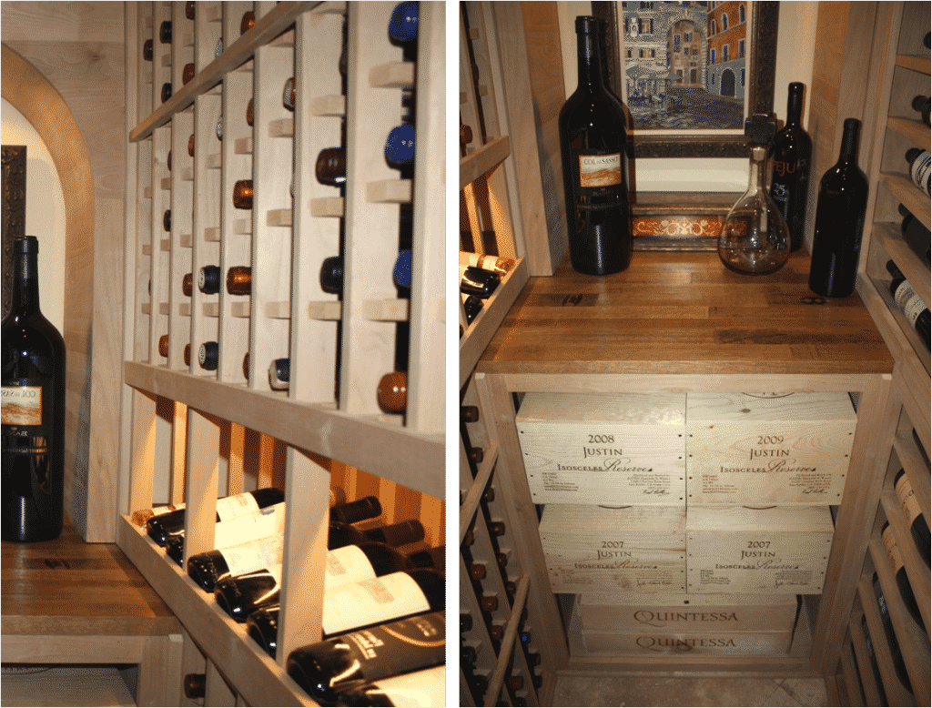 Wine Storage Design Home Wine Cellar Cooling Project In Texas