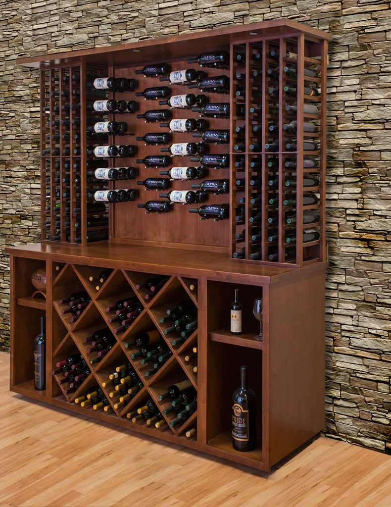 Metal Wine Storage Racks Ultra Peg Hz Series Metal Wine Racks