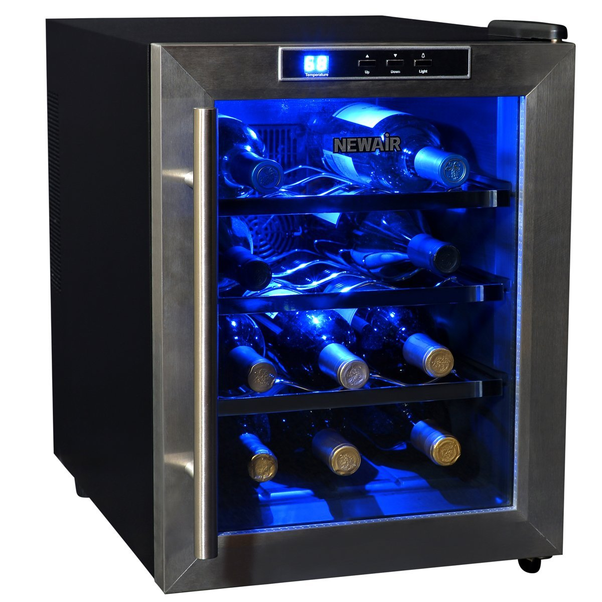 Airplane Wine Bottle Size Newair Aw 121e Thermoelectric Wine Cooler 12 Bottlewine