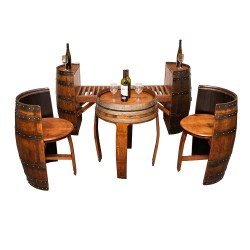 Small Crop Of Wine Barrel Furniture