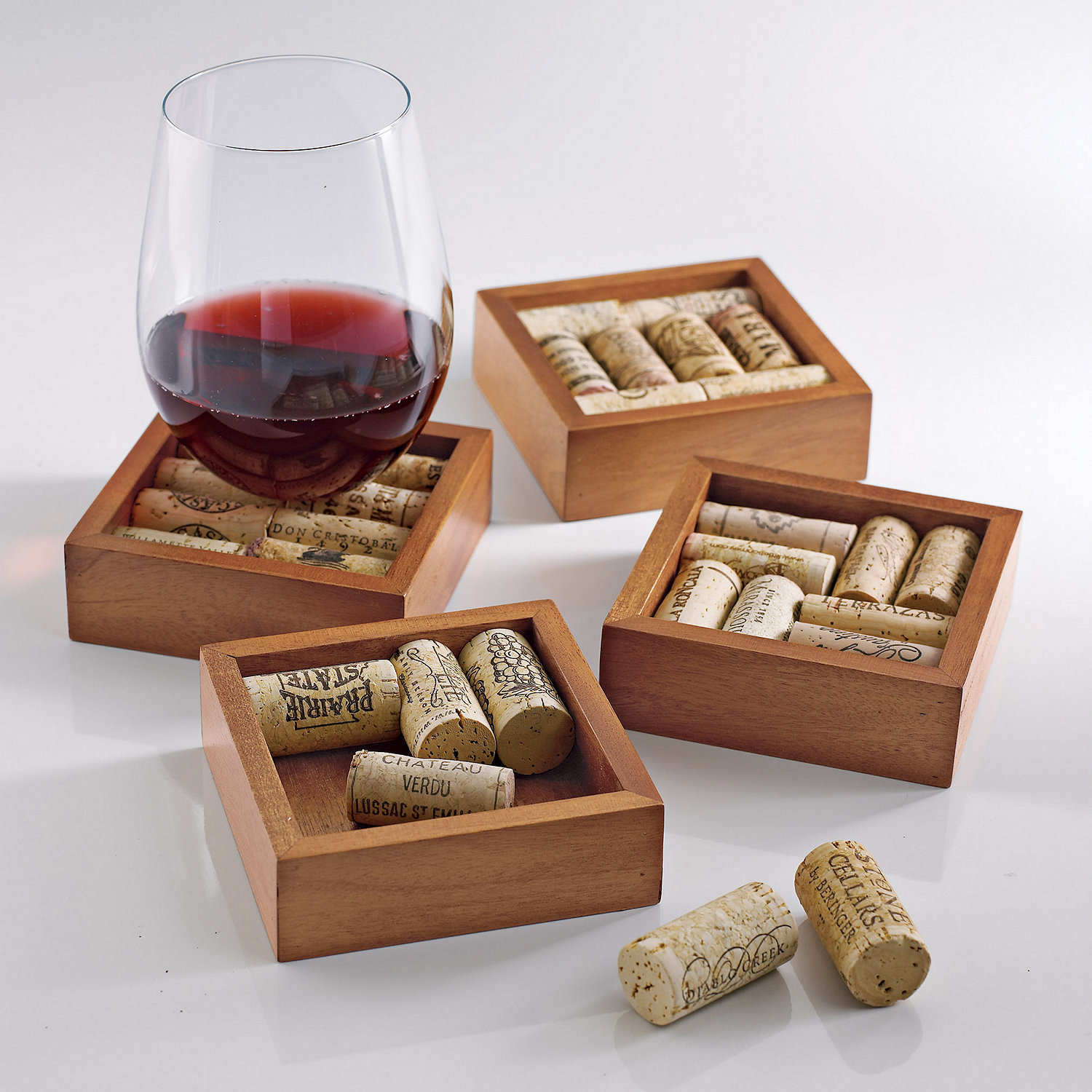 Cool Bar Coasters 20 Clever Wine Cork Diy Ideas The Art In Life