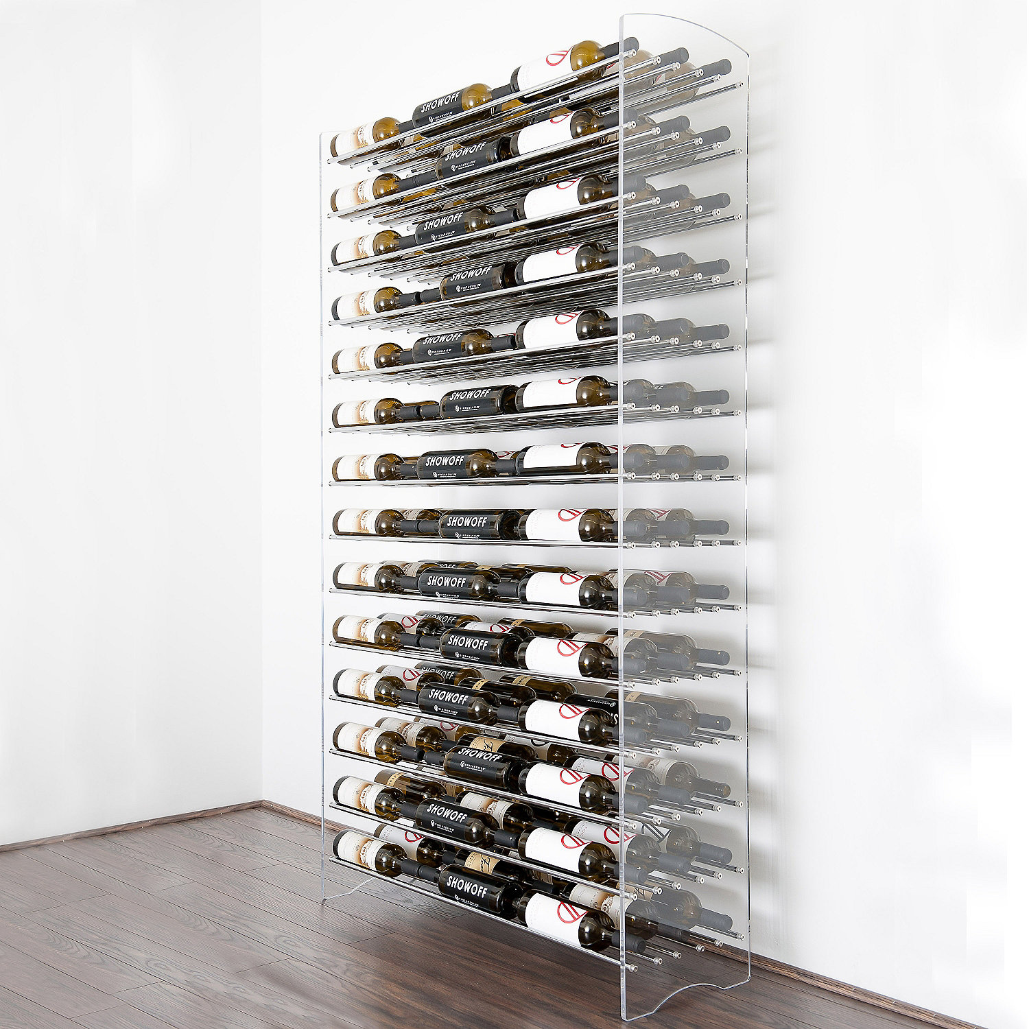 Metal Wine Storage Racks Vintageview Evolution Series 6 Foot Wine Rack 126 Bottle