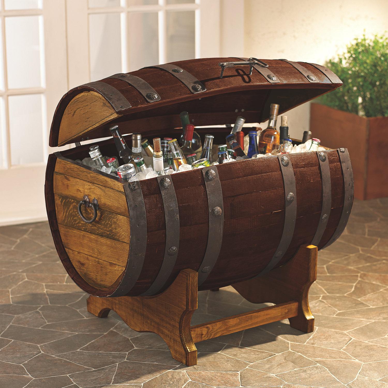 Pristine Preparing Zoom Reclaimed Tequila Barrel Ice Chest Stand Wine Enthusiast Wine Barrel Furniture Wenatchee Wine Barrel Furniture Washington curbed Wine Barrel Furniture