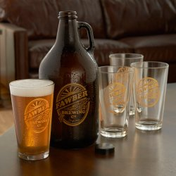 Small Of Personalized Beer Glasses