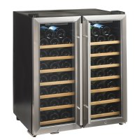 Dual Zone Wine Cooler Wood Cabinet | Cabinets Matttroy
