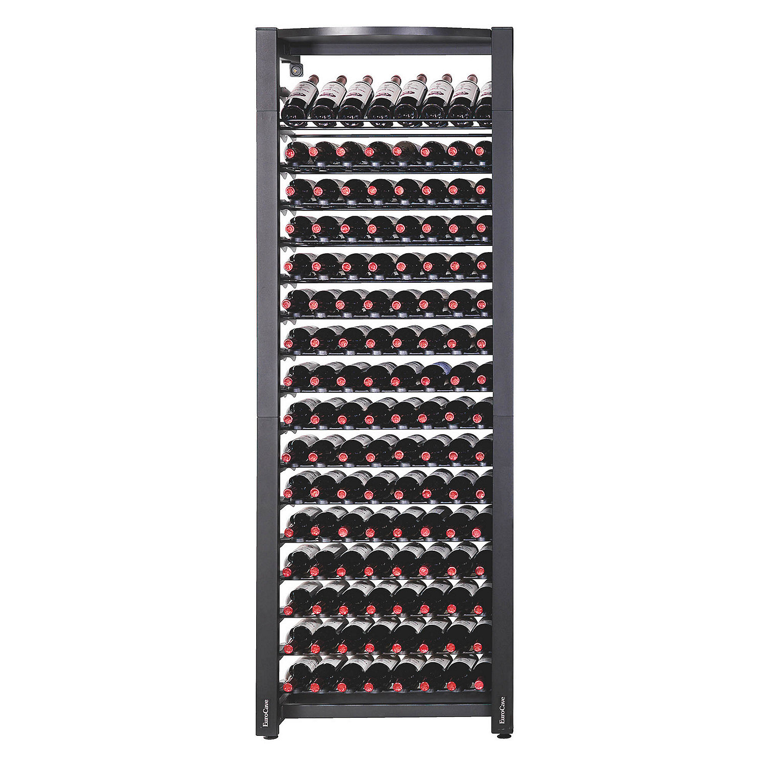 Metal Wine Racks Eurocave Modulosteel 1 Column Wine Rack