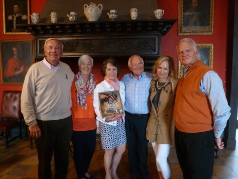 (L-R) Bruce and Claudia Kiely, Suzanne and Dani Hoffman, Susan and Rusty Richardson.