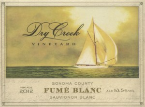 Dry Creek Vineyard Fume Blanc 2012