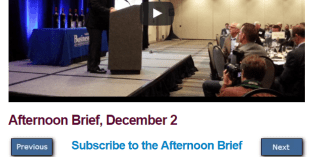 Afternoon Brief, December 2