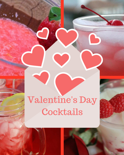 9 Red and Pink Valentine's Day Cocktails
