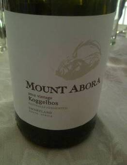 Mount Abora Koggelbos Chenin Blanc 2012