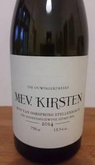The Old Vine Series Mev. Kirsten 2014