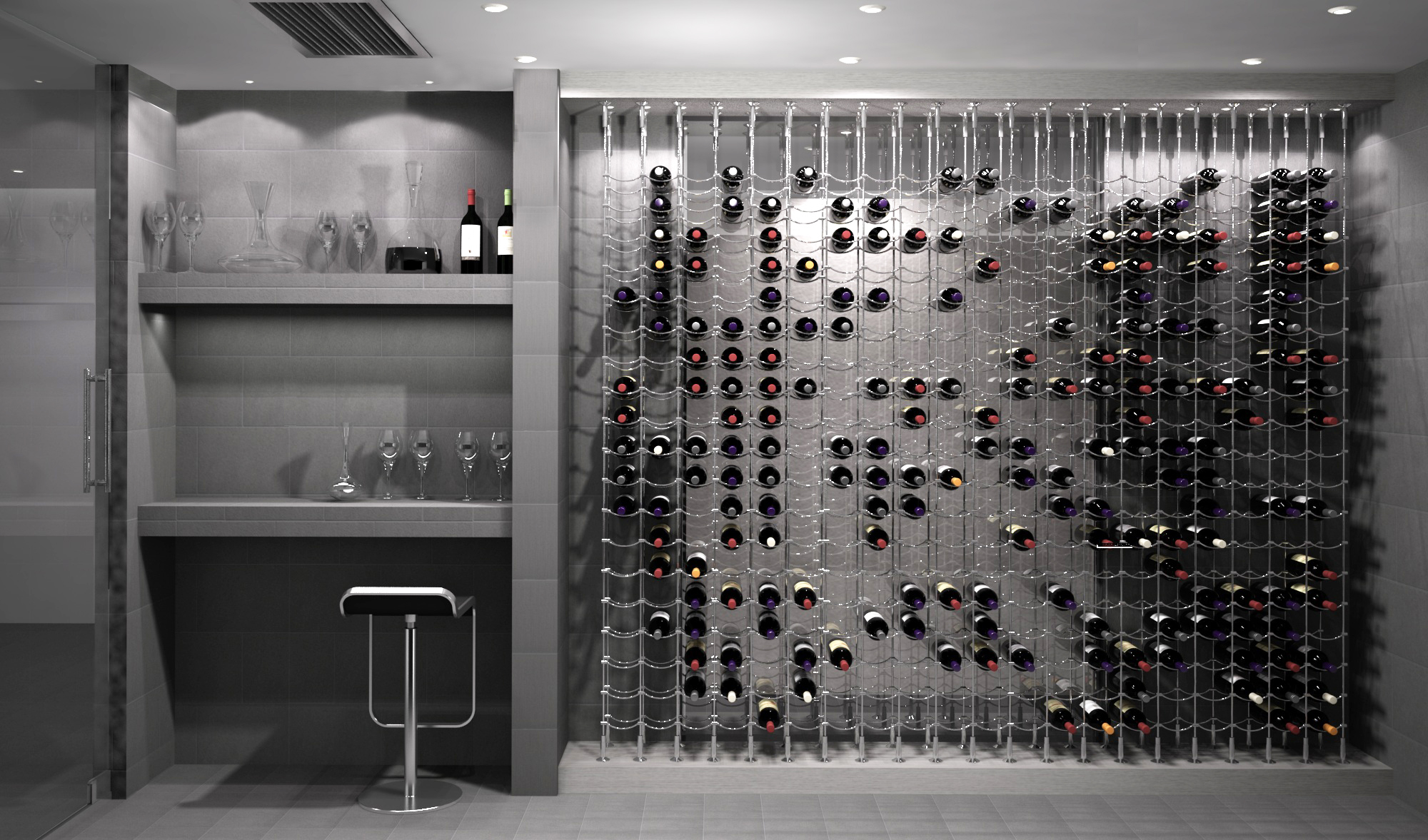 Wine Rack Wire Wines Cellar A Site Dedicated To Wine Cellar Design Www