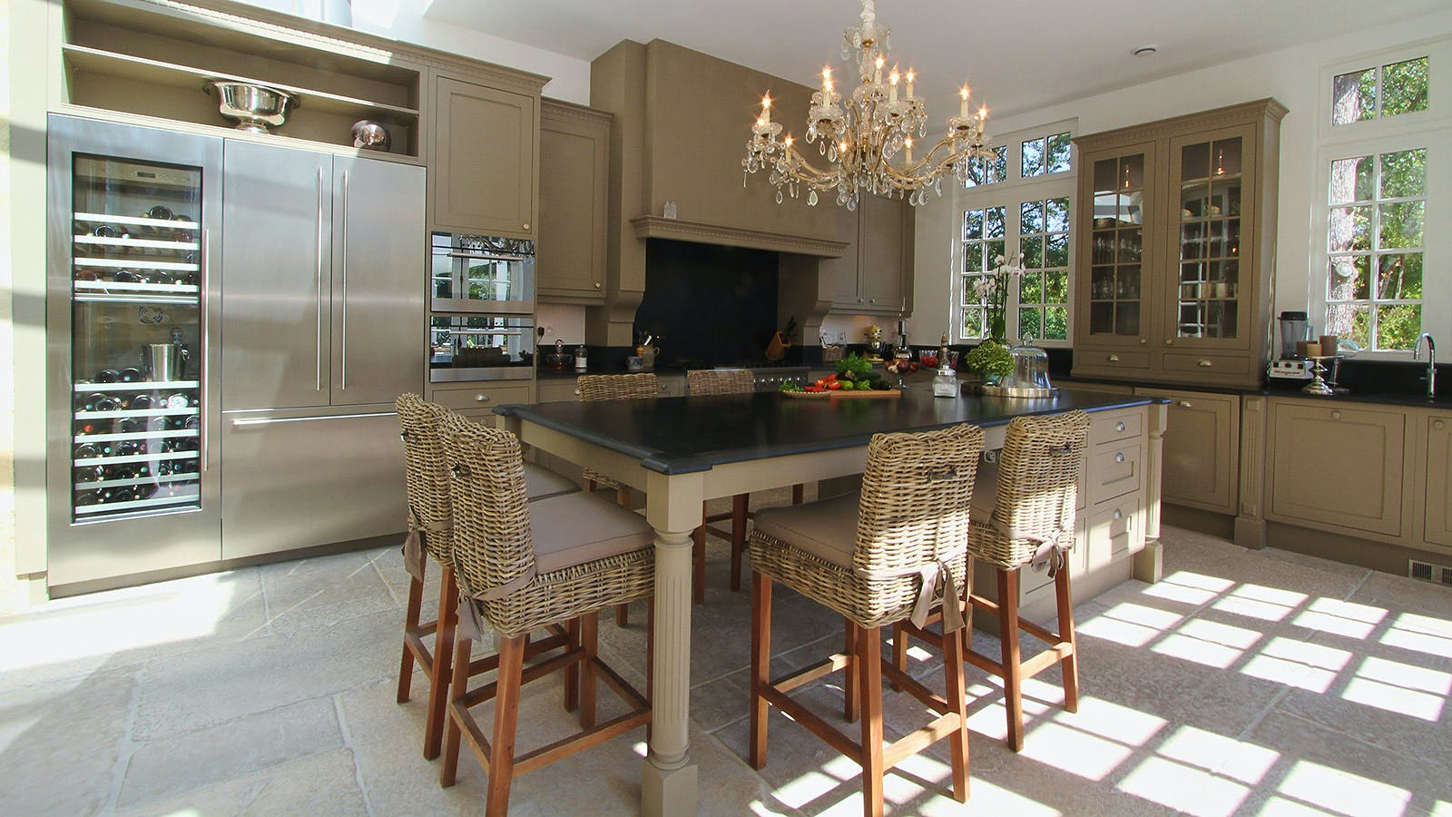 B&q Kitchen Design Jobs At Home In An 18th Century Bordeaux Château Wine Spectator