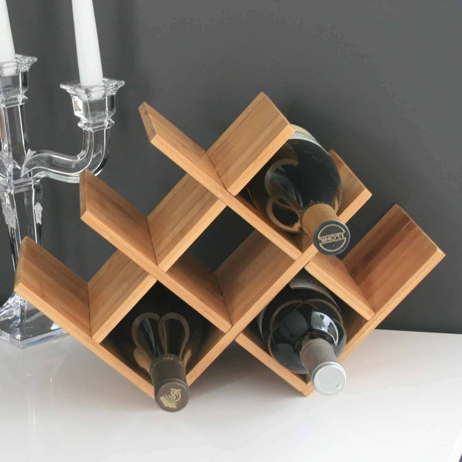 Wine Shaped Wine Rack 13 Unique Wine Racks On Which To Store Those Bottles