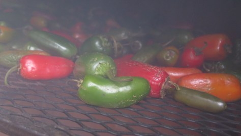 Feast your eyes: Our local growers supplied us with over 1,000 lbs of peppers this year. Half of which went in the smoker for our Chipotle Jalapeno Wine.