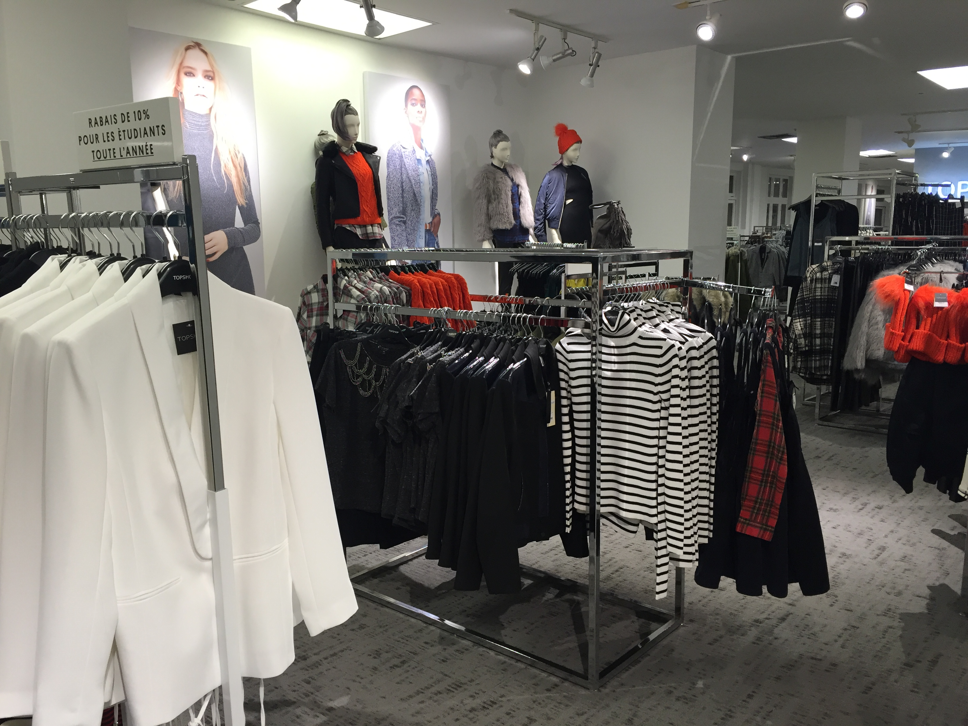 Store A Rabais New In Ottawa Topshop Pop Up Store