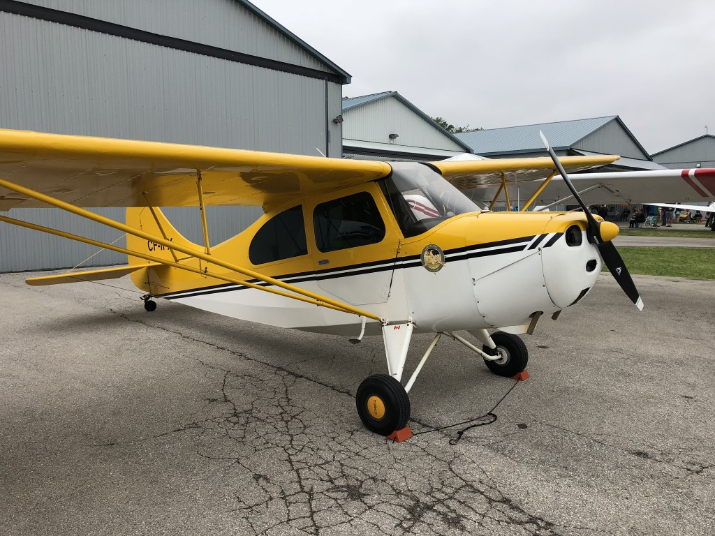 Fabric Stores Burlington Ontario Wingswap 1946 Aeronca 7ac Champ