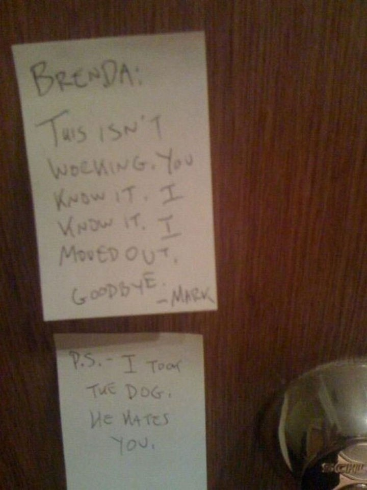 10 Breakup Letters You Won\u0027t Believe Are Real but They Are