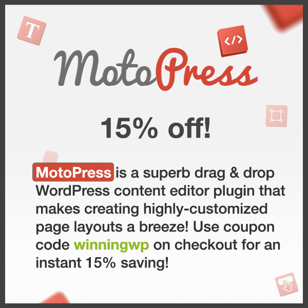 MotoPress Coupon Code 2018 - 15 Discount! - coupon layouts