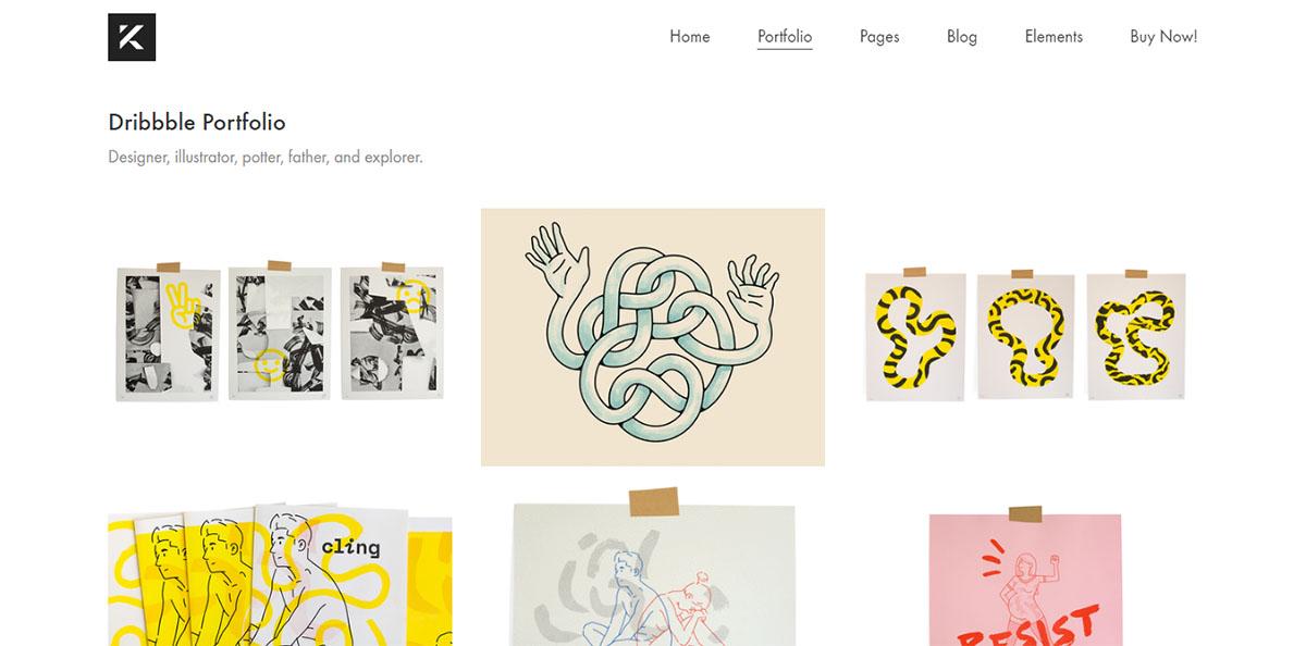 40+ Best WordPress Portfolio Themes for Illustrators and Designers
