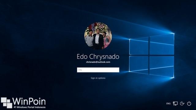 Cara Mengganti Background Login Screen di Windows 10