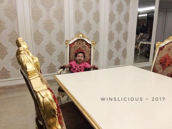 My Princess penggemar berat hotel Myko