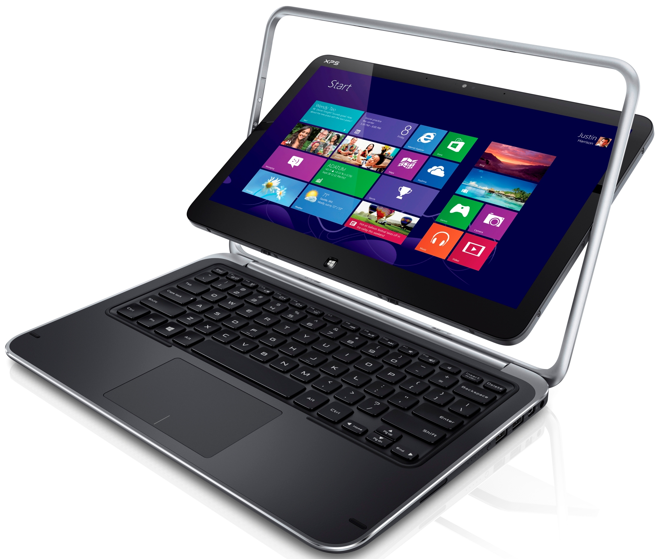 Laptop Tablett Dell Announces Swiveling Windows 8 Tablet Windows Rt