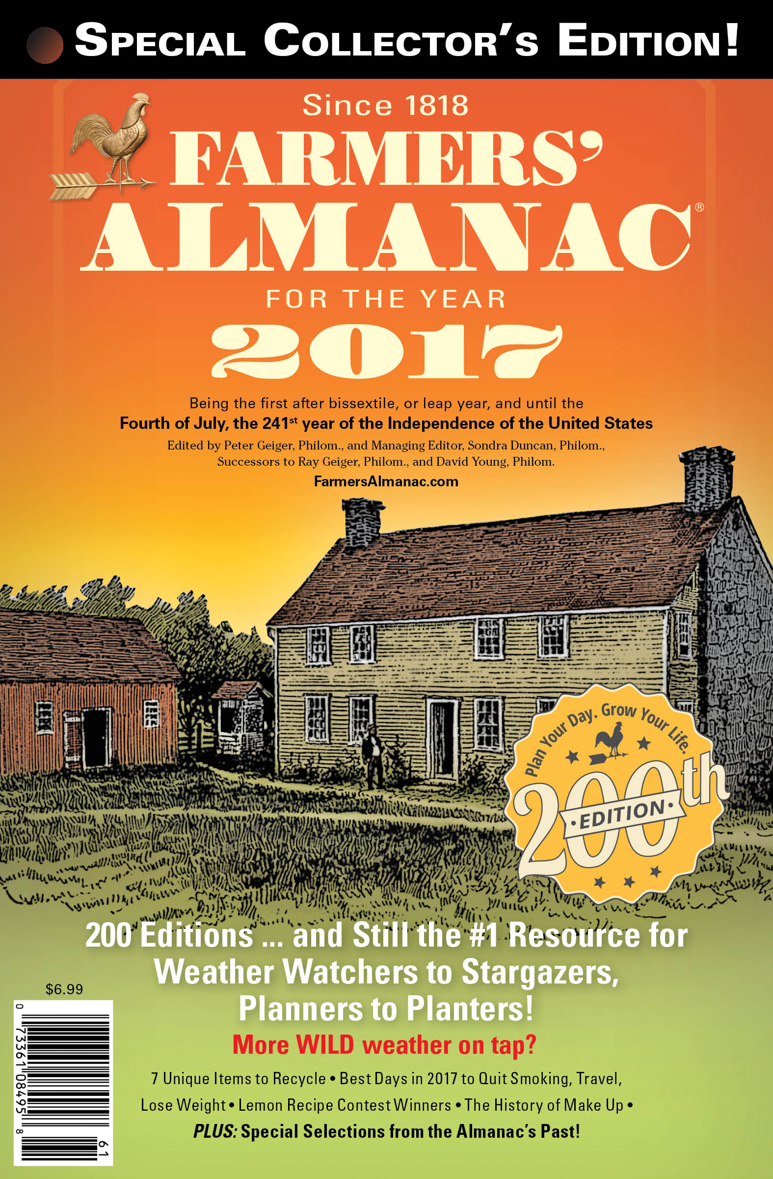 Weather Predictions Farmers Know Best: Almanac Winter Weather Predictions 2017