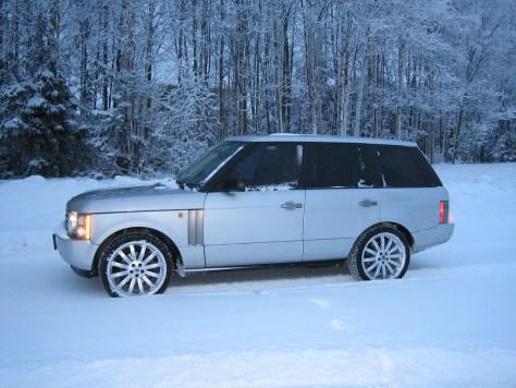Range Rover Snow