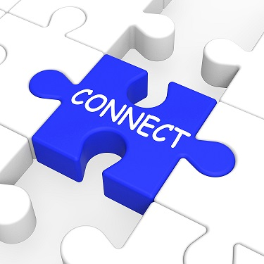 Connect Puzzle Shows Global Communications And Connectivity