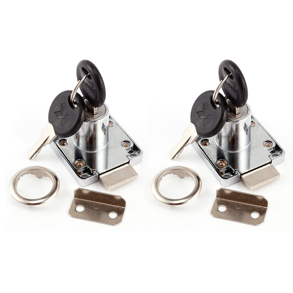 Kitchen Cabinet Cam Locks Lot Of 2 Cam Lock For Door Cabinet Mailbox Drawer Cupboard