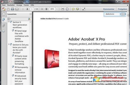 adobe reader 10 free download for windows 7 32 bit