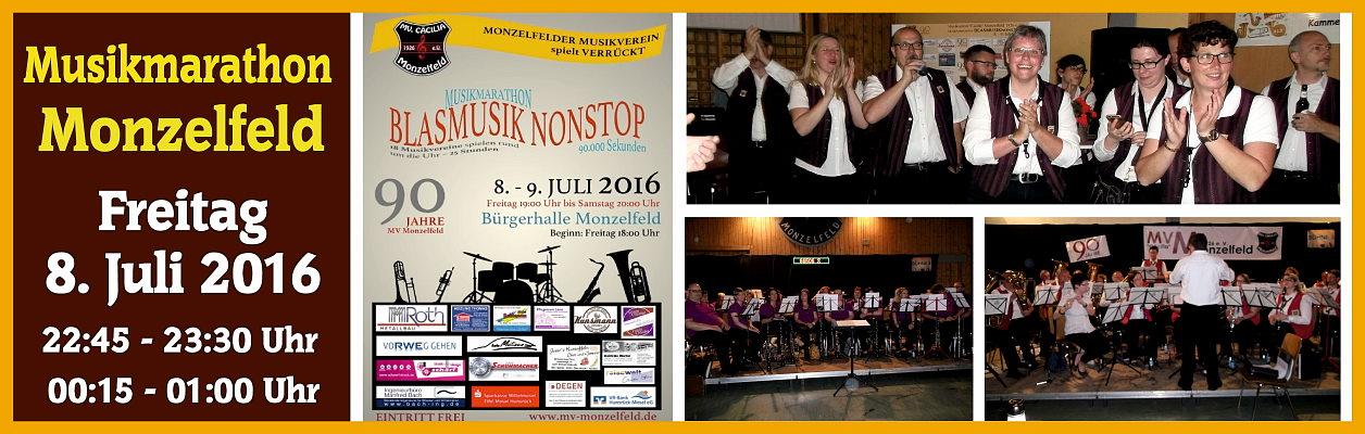 2016 – Blasmusik Marathon in Monzelfeld
