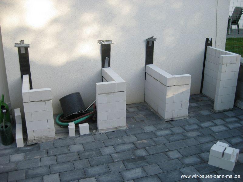 Outdoor Küche Mauern | Solitäre Im Topf › Zinsser Gartengestaltung ...