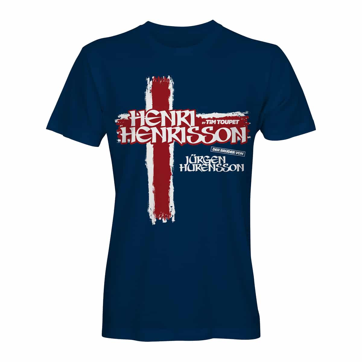 T Short T Shirt Henri Henrisson Navy