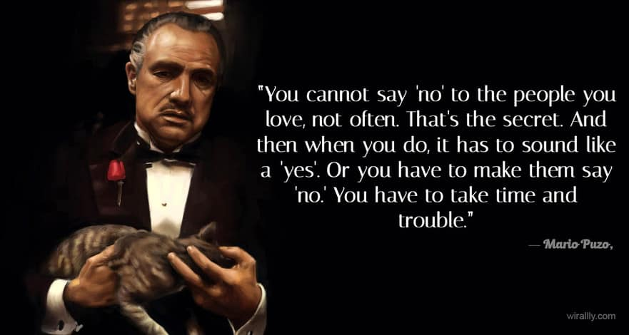 Hustle Quotes Wallpaper These 10 Quotes From Quot The Godfather Quot Will Give You The