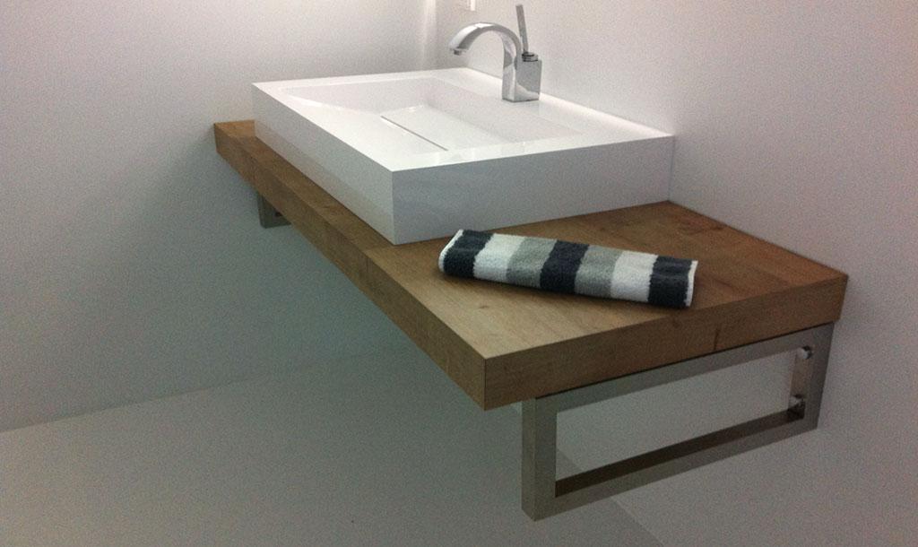 Waschtischkonsole selber planen wir bauen unser haus - badezimmer konsole