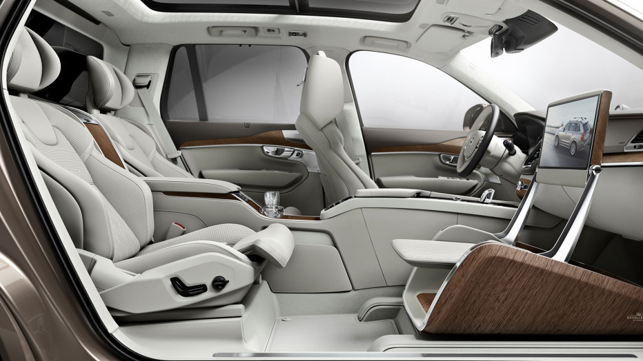Volvo V90 Interieur Volvo Axes The Passenger Seat To Boost Backseat Legroom