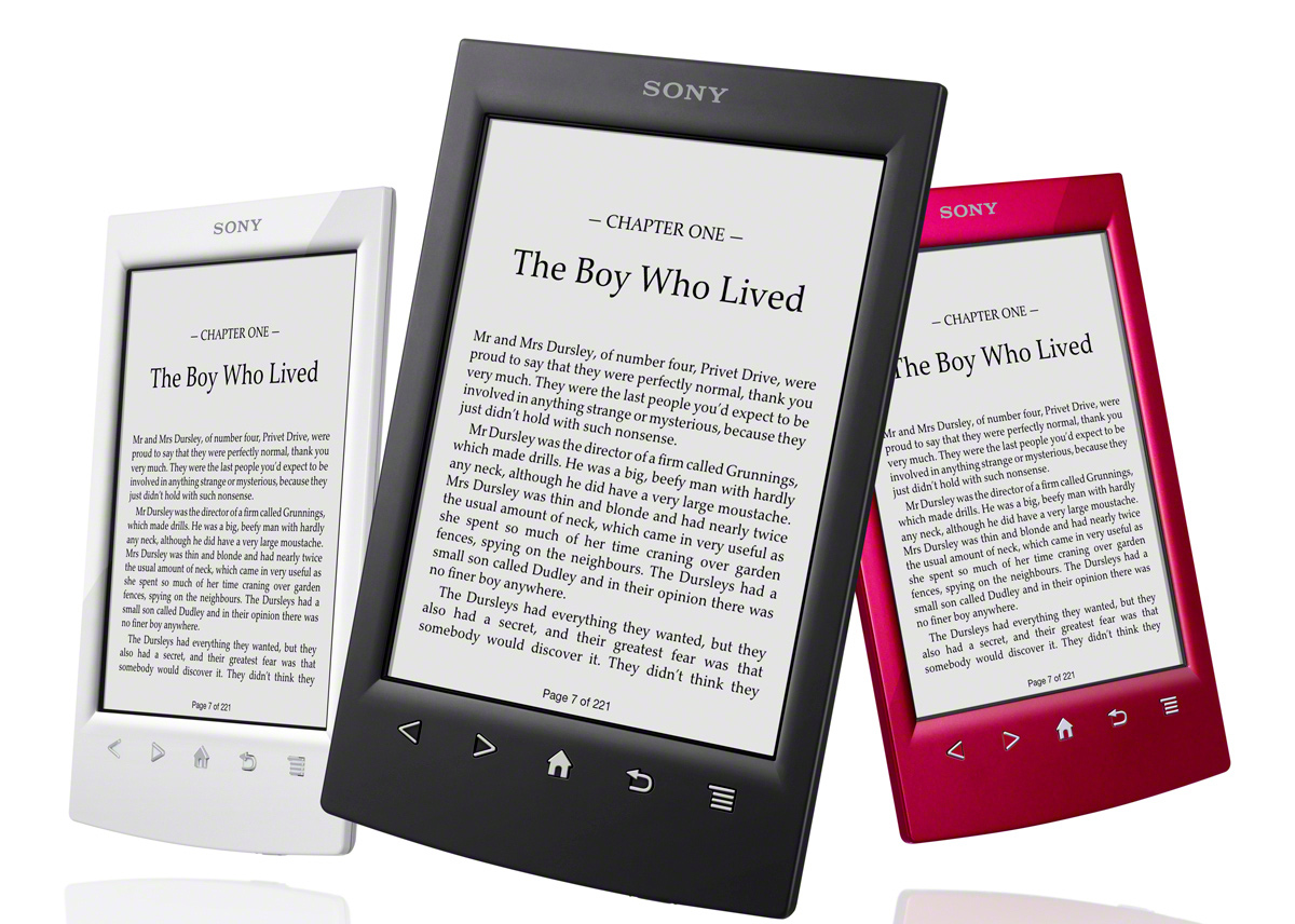 Lector Libros Tablet Sony 39s New Ereader Faces Uphill Battle Gadget Lab