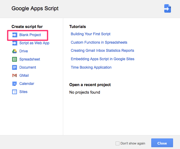 Google Apps Scripts
