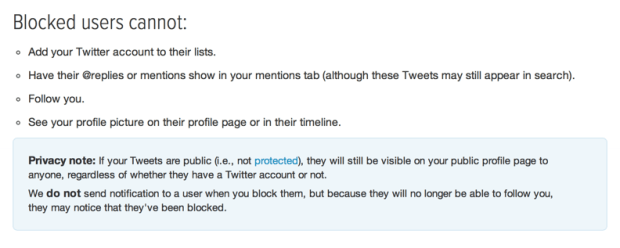 Twitter Block Policy, Dec 13