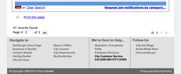seattle job search results