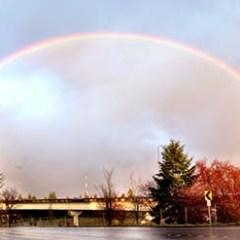Double rainbow …