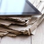 newspapers and ipad