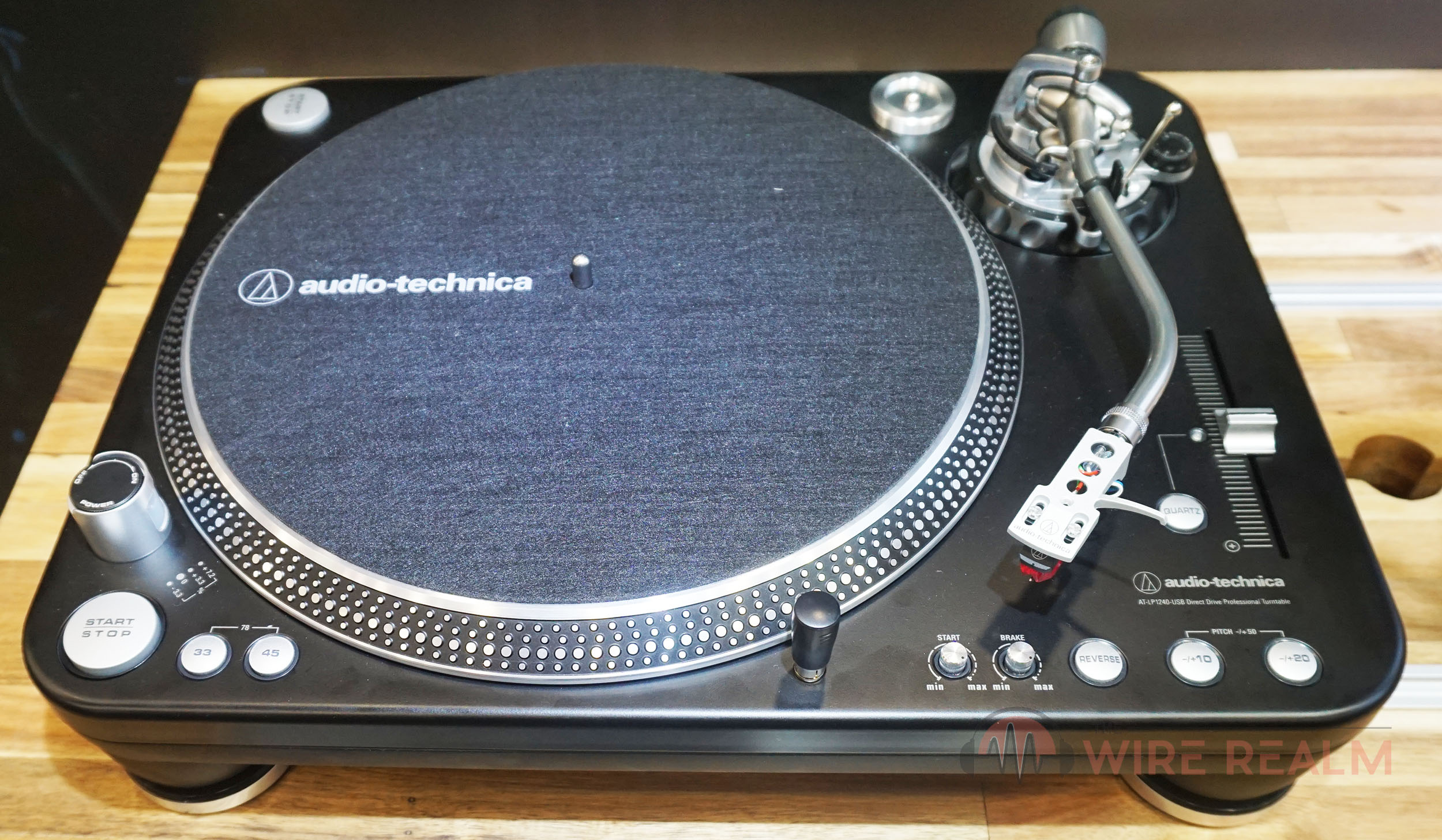 Bad Dj Set Audio Technica At Lp1240 Usb Xp Dj Turntable Review The