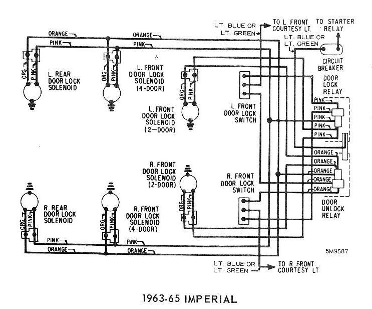1963 chrysler wiring diagram