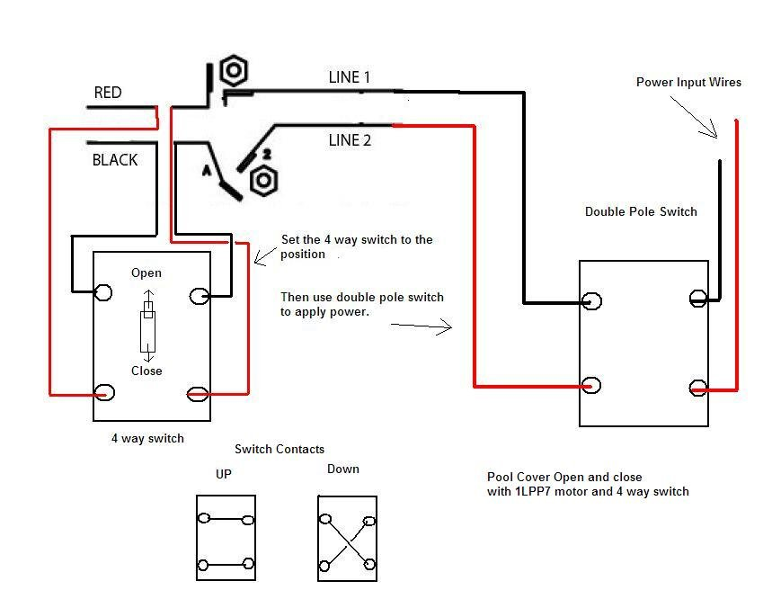 single phase forward reverse switch wiring diagram